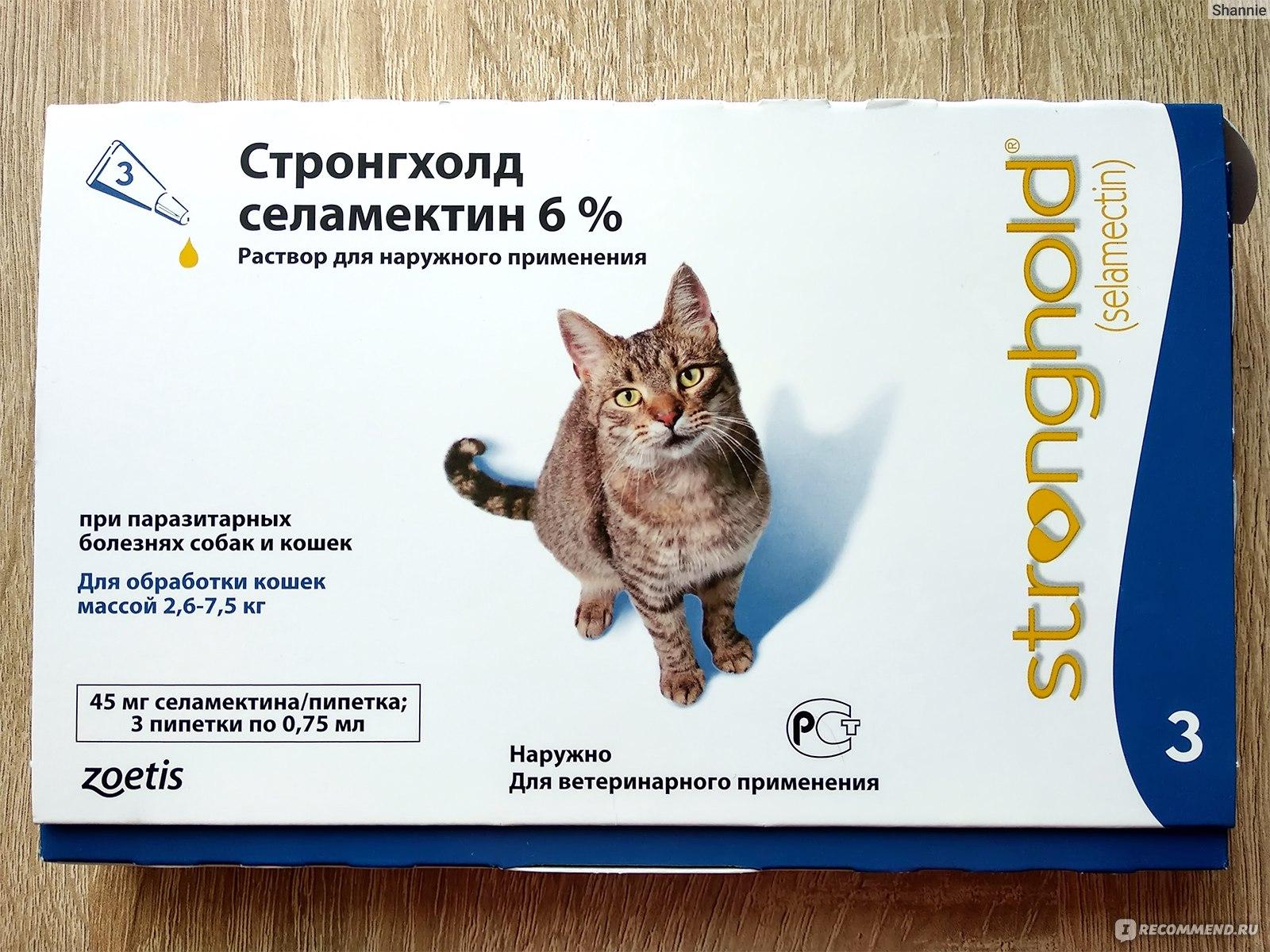 Стронгхолд для собак — препарат для борьбы с внутренними и внешними паразитами