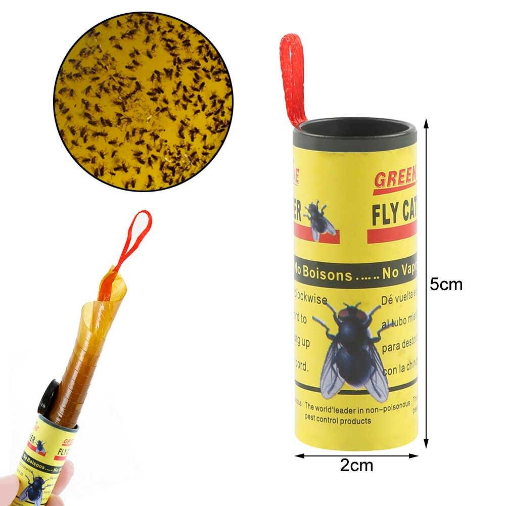 Липкая лента от мух – описание, инструкция, цены