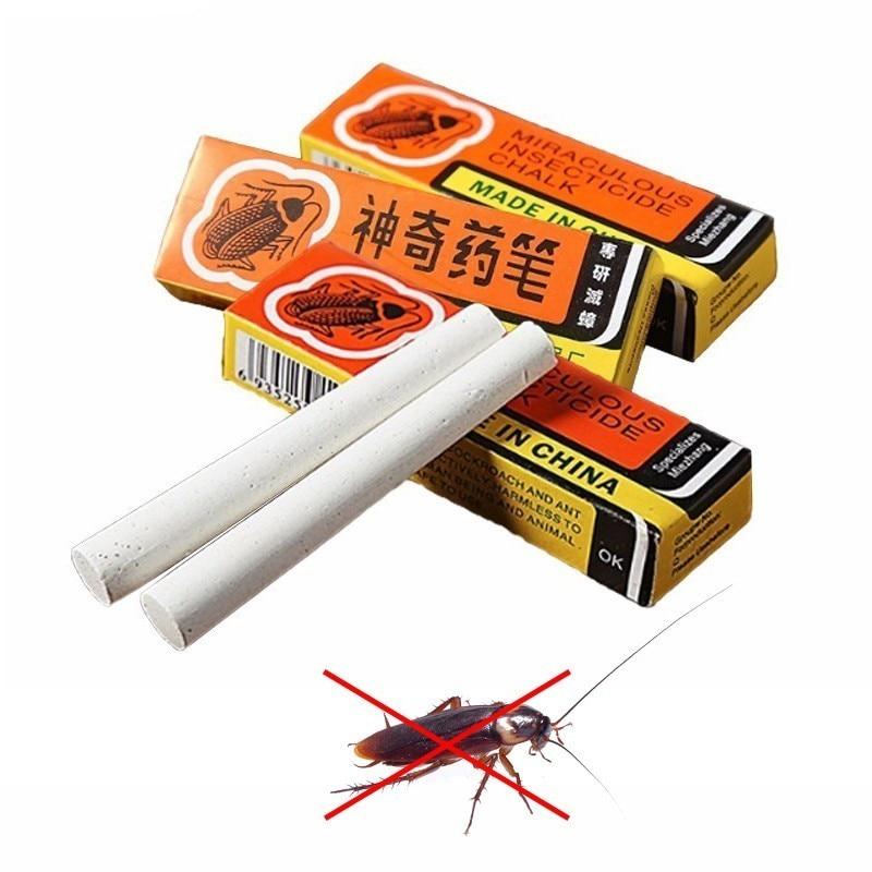 Помогает ли мелок избавиться от тараканов