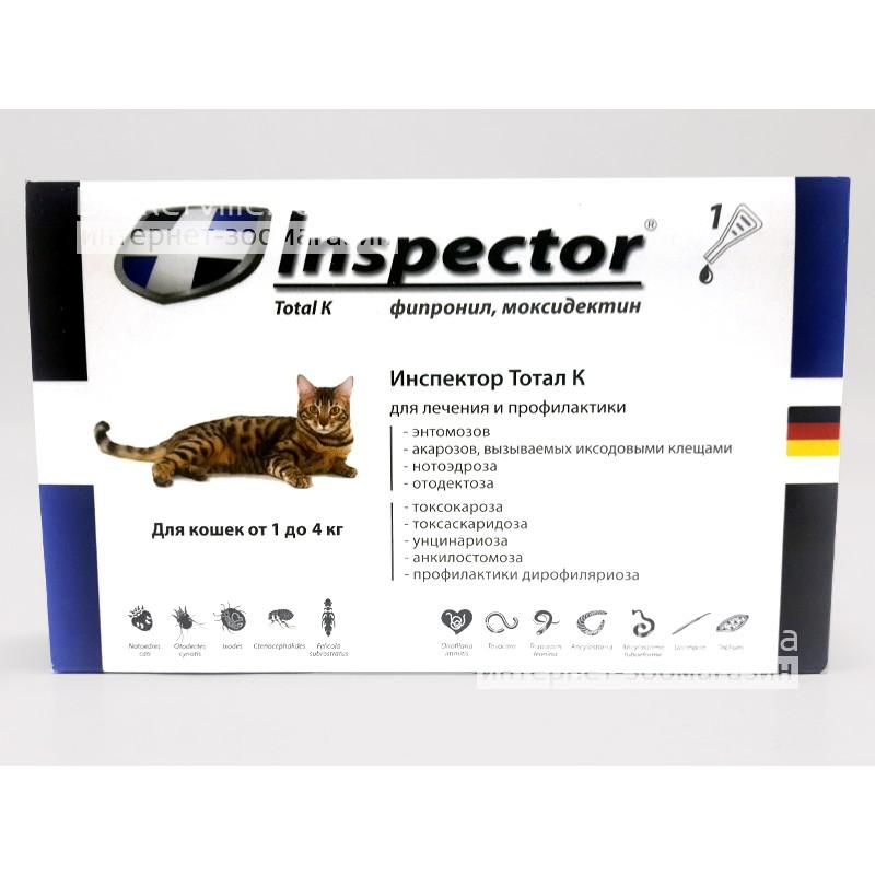 Капли инспектор для кошек: препарат от блох, клещей и гельминтов - все о породах кошек с описанием, фотографиями и названиями.все о породах кошек с описанием, фотографиями и названиями.
