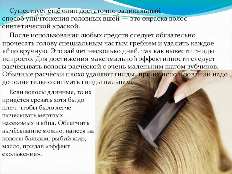 Убивает ли вшей краска для волос: выдумка или подтверждённый факт?