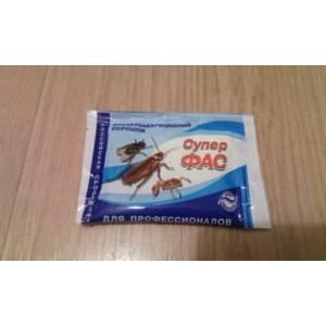Супер фас от тараканов: описание, инструкция по применению и отзывы