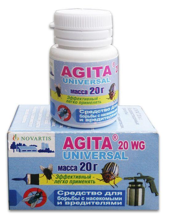 Описание и  применения препарата агита 10 wg от мух