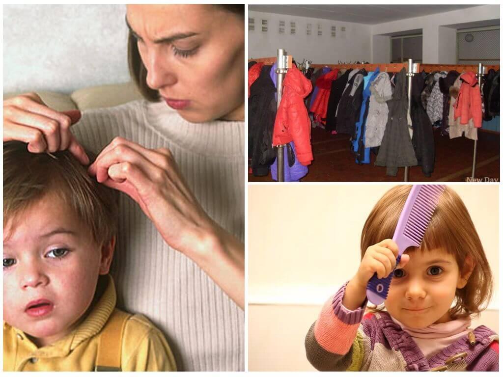 Вши у детей: места и способы заражения, лечение педикулеза