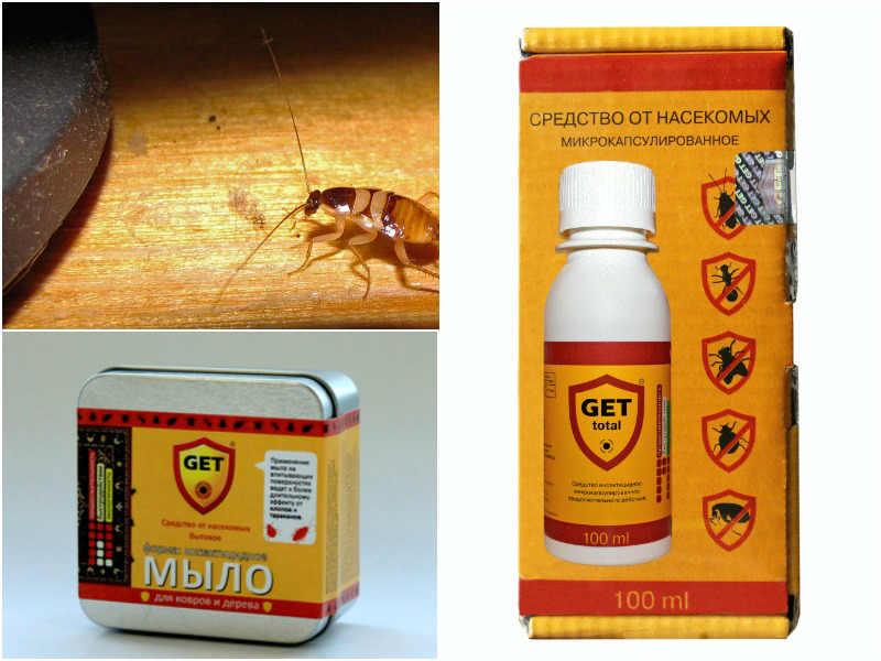 Средство от тараканов get (гет)