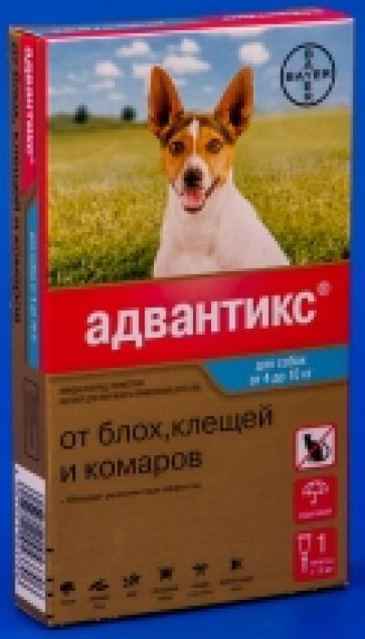 Адвантикс для собак: инструкция по применению, дозировки, отзывы специалистов