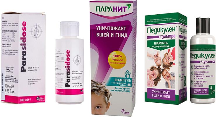 Шампунь от вшей и гнид для детей и взрослых: обзор, инструкции