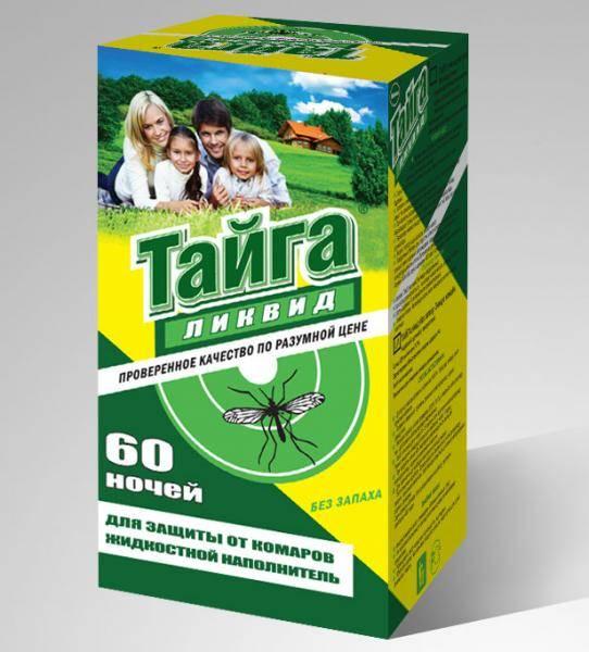 Средство от комаров тайга: спрей и крем, отзывы
