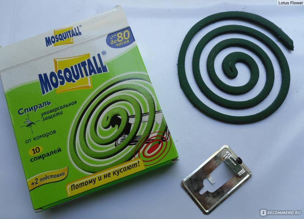 Mosquitall (москитол) спирали от комаров, 10 шт