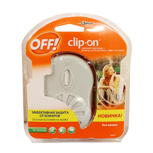Средство от комаров off clip-on: отзывы