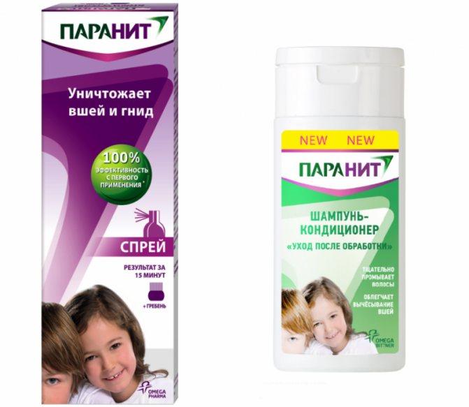 Шампунь от вшей и гнид для детей - обзор шампуней (отзывы)