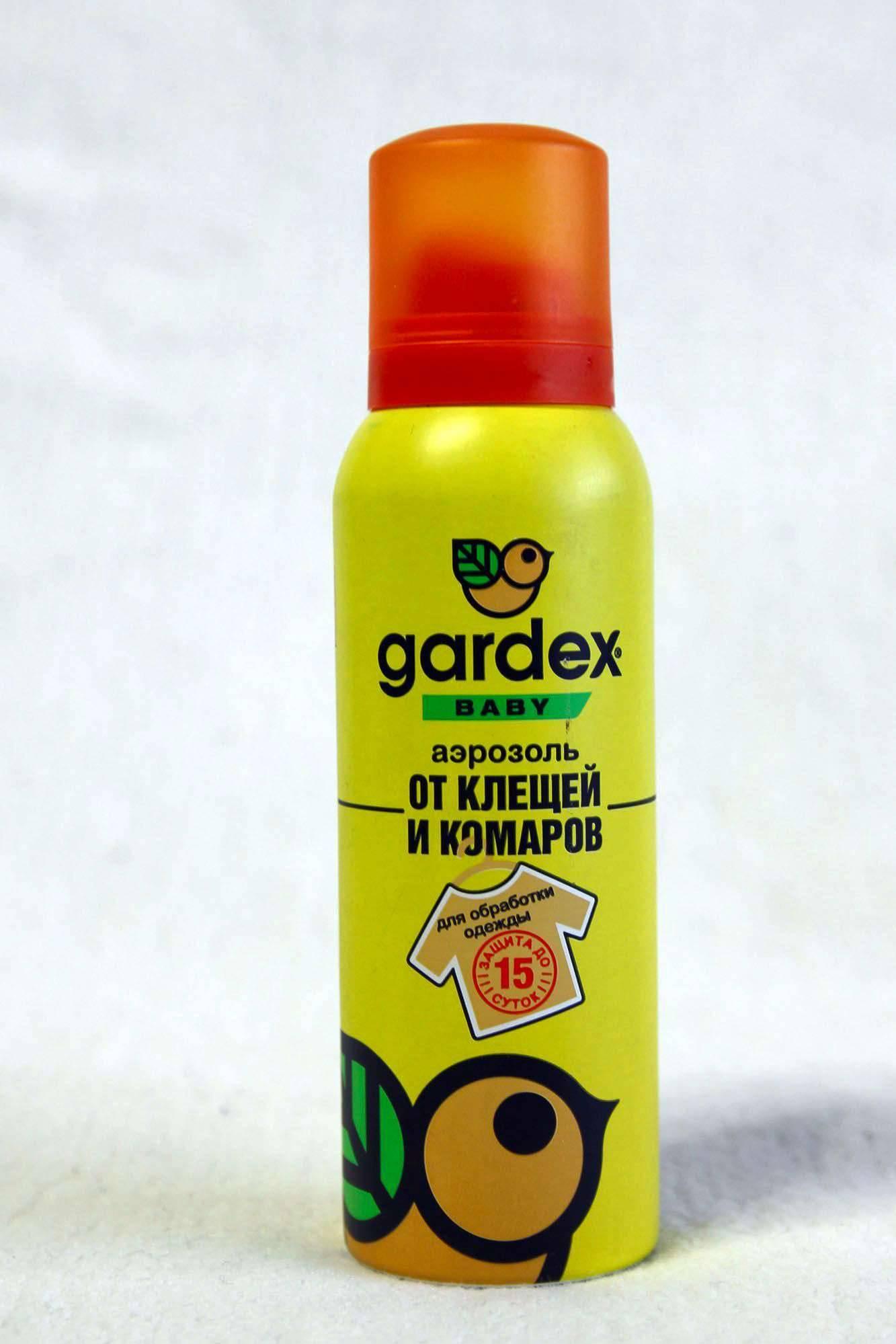 Гардекс от комаров - инструкция по применению, цена, отзывы