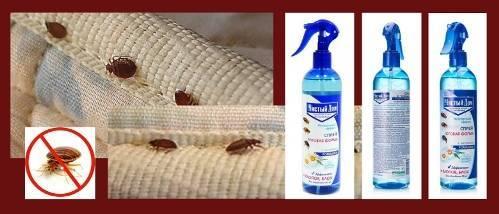 Средства «чистый дом» от клопов, аэрозоли и дусты высокой эффективности