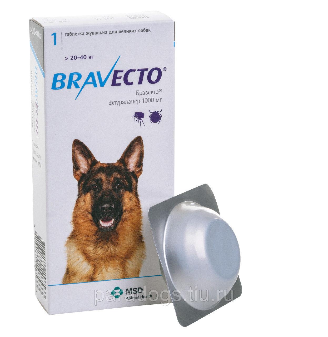 Таблетки от клещей и блох для собак