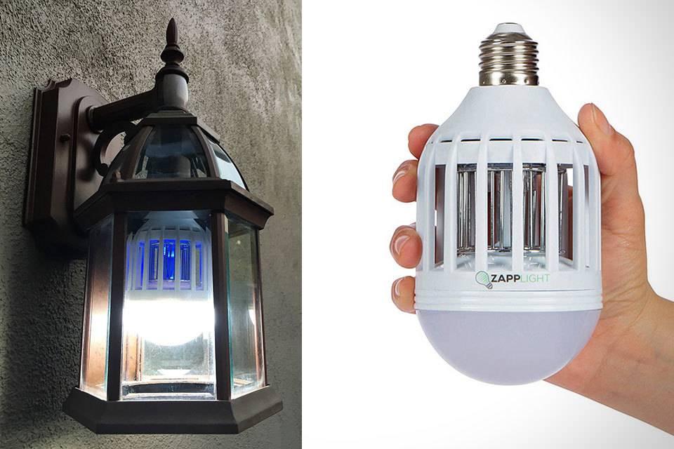 Лампа от комаров для улицы – обзор и отзывы об ультрафиолетовых и других уличных лампах против комаров