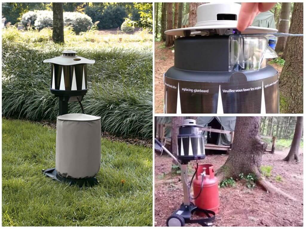 Уничтожители комаров на открытом воздухе - обзор и отзывы