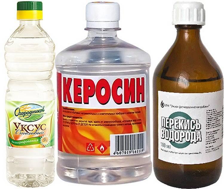 Как применять керосин при педикулёзе: рецепты и способы