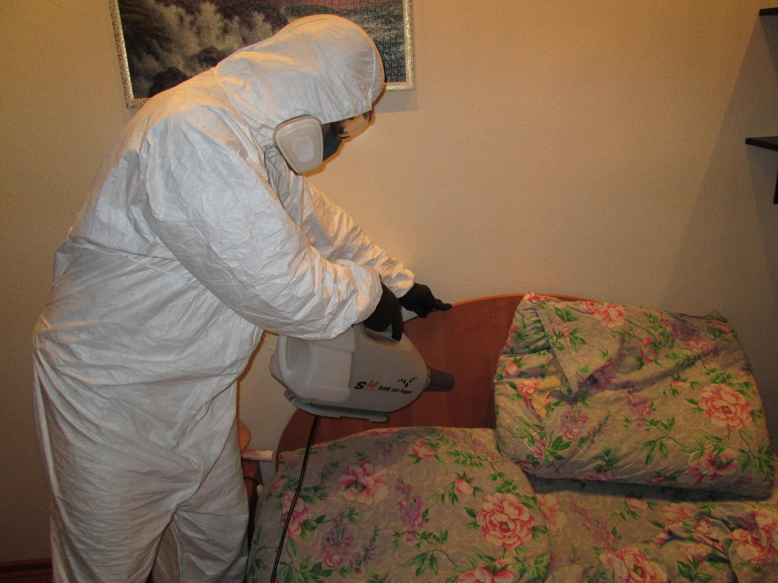 Уничтожение клопов в квартире в москве с гарантией– цены