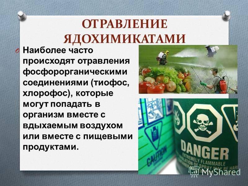 Как происходит отравление ядами?