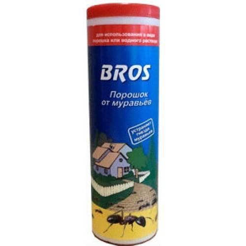 Как использовать порошок против муравьев брос. инсектицидные препараты от муравьев (сводная таблица)