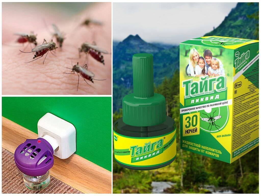 Жидкость «тайга» – бюджетное и эффективное средство от комаров