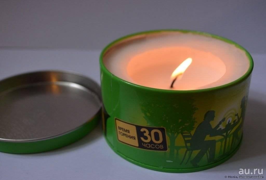 Свечи от комаров для улицы и дома
