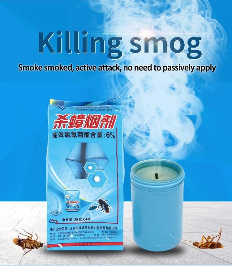 Дымовые шашки от тараканов в квартире и в доме, как правильно устроить травлю дымом? лучшие дымовые шашки со сто процентным уничтоженим