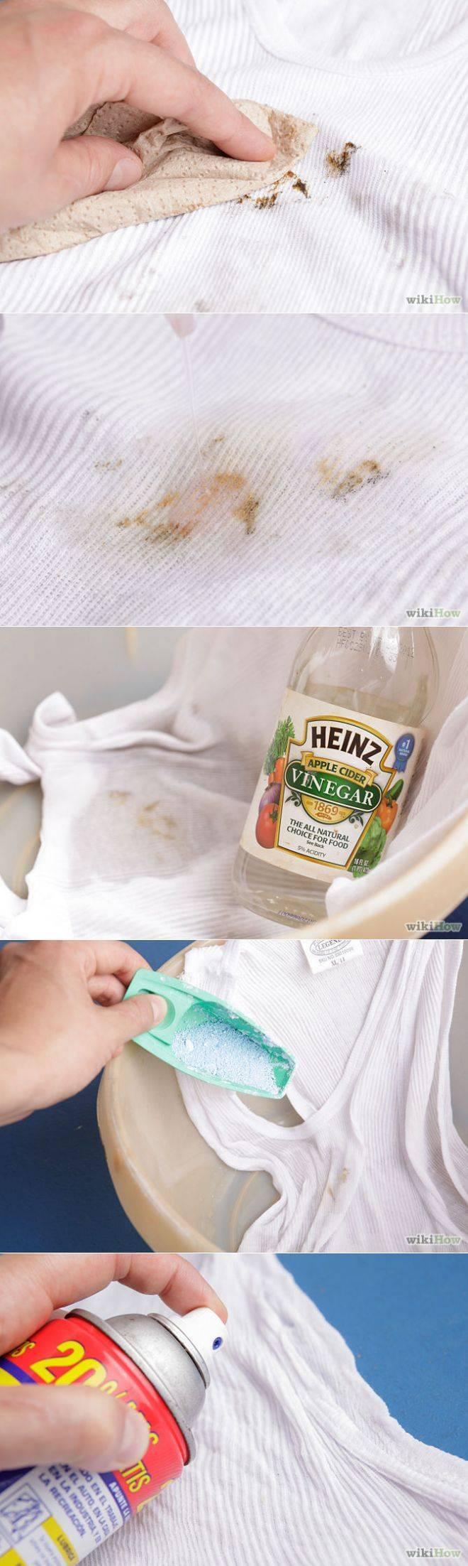 Как отстирать плесень с одежды: обзор проверенных методов