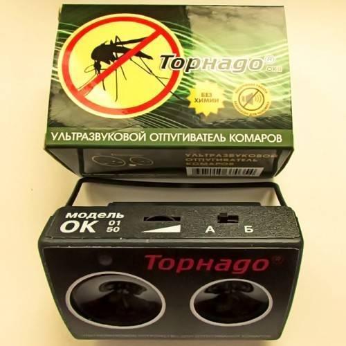 Эффективность звукового отпугивателя для комаров