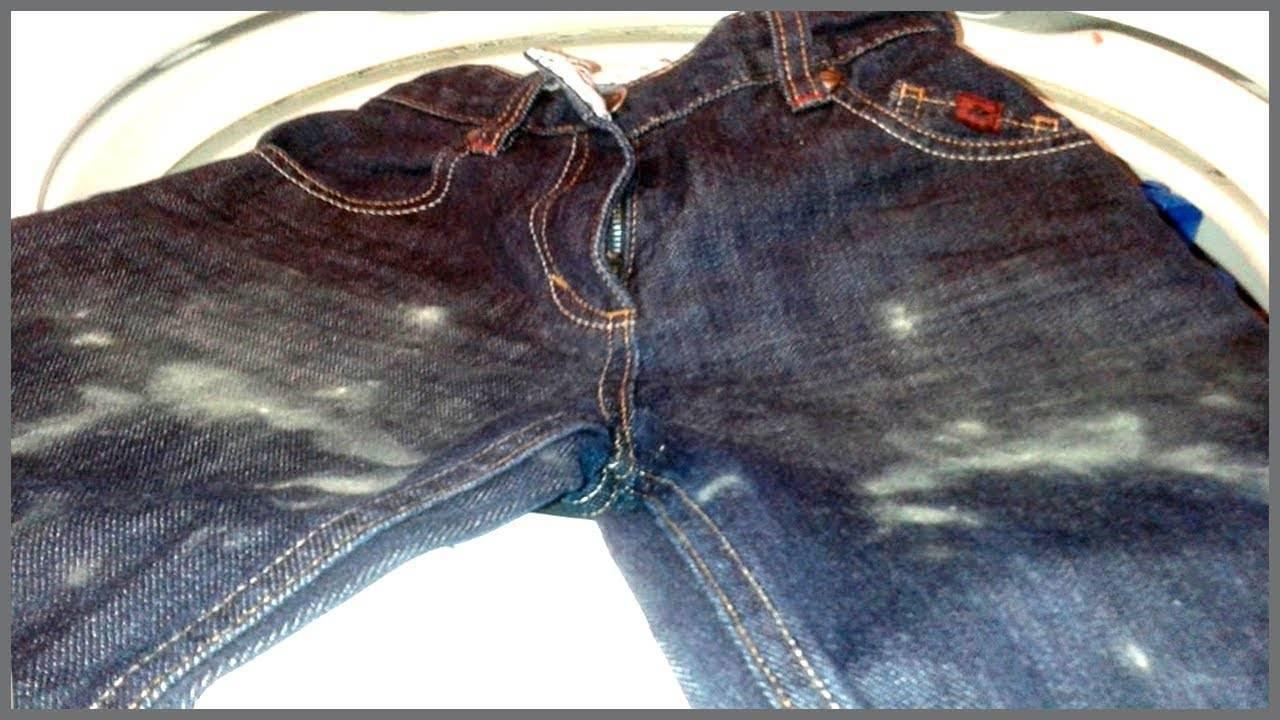 Как можно отстирать плесень с одежды