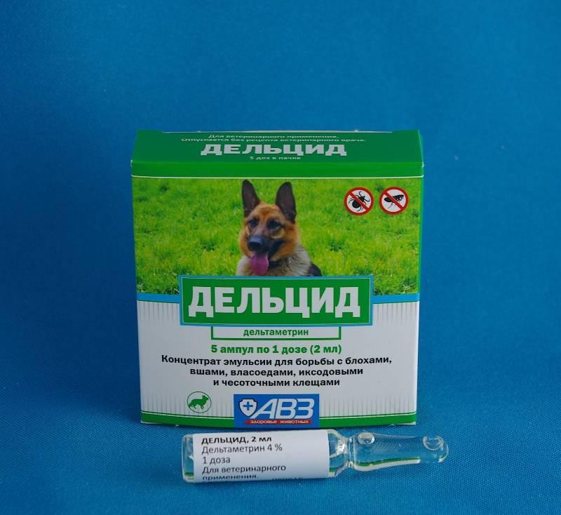 Дельцид от блох – для обработки помещений и животных