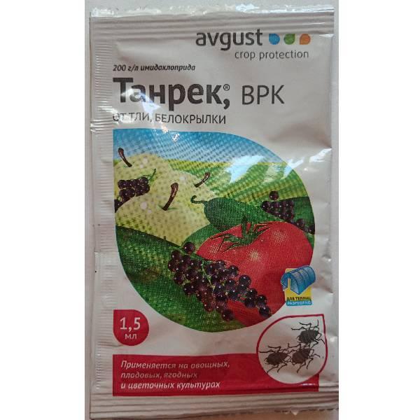 Рекомендации по использованию инсектицида «танрек» для борьбы с вредителями