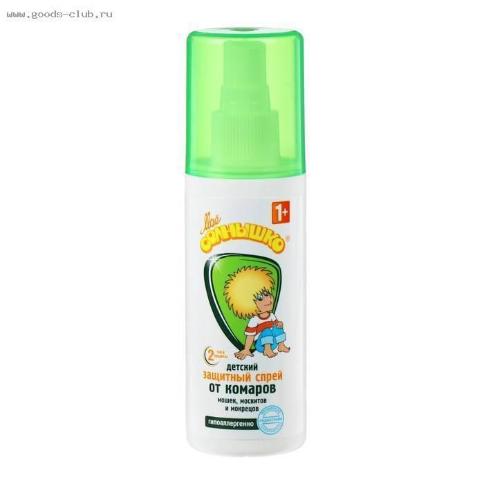 Спрей и мазь «мое солнышко» от комаров – инструкция по применению, цена, отзывы