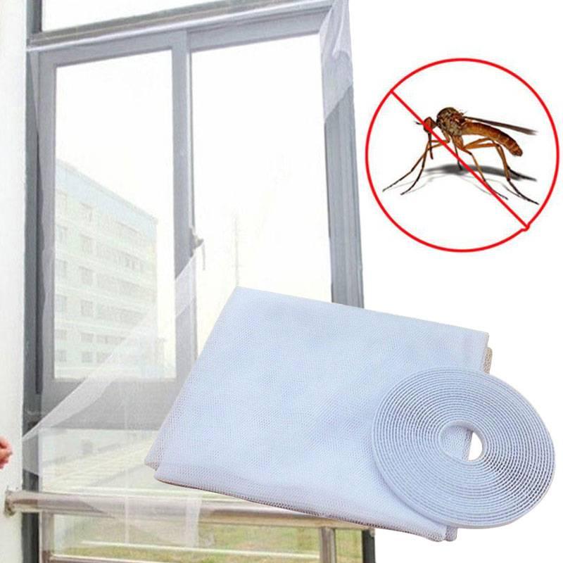 Москитная сетка: устанавливаем защиту от комаров на лето