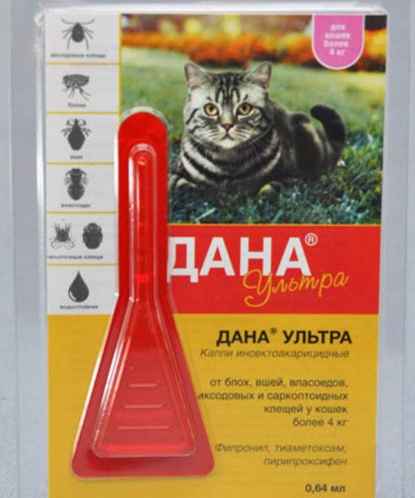 Капли дана ультра нео от блох для кошек и собак