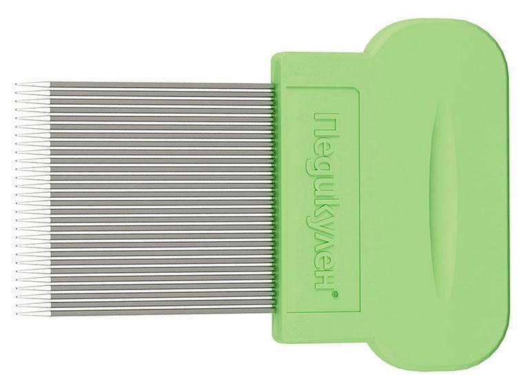 Гребни от вшей и гнид: какие существуют и как пользоваться гребешком для вычёсывания + фото, видео и отзывы