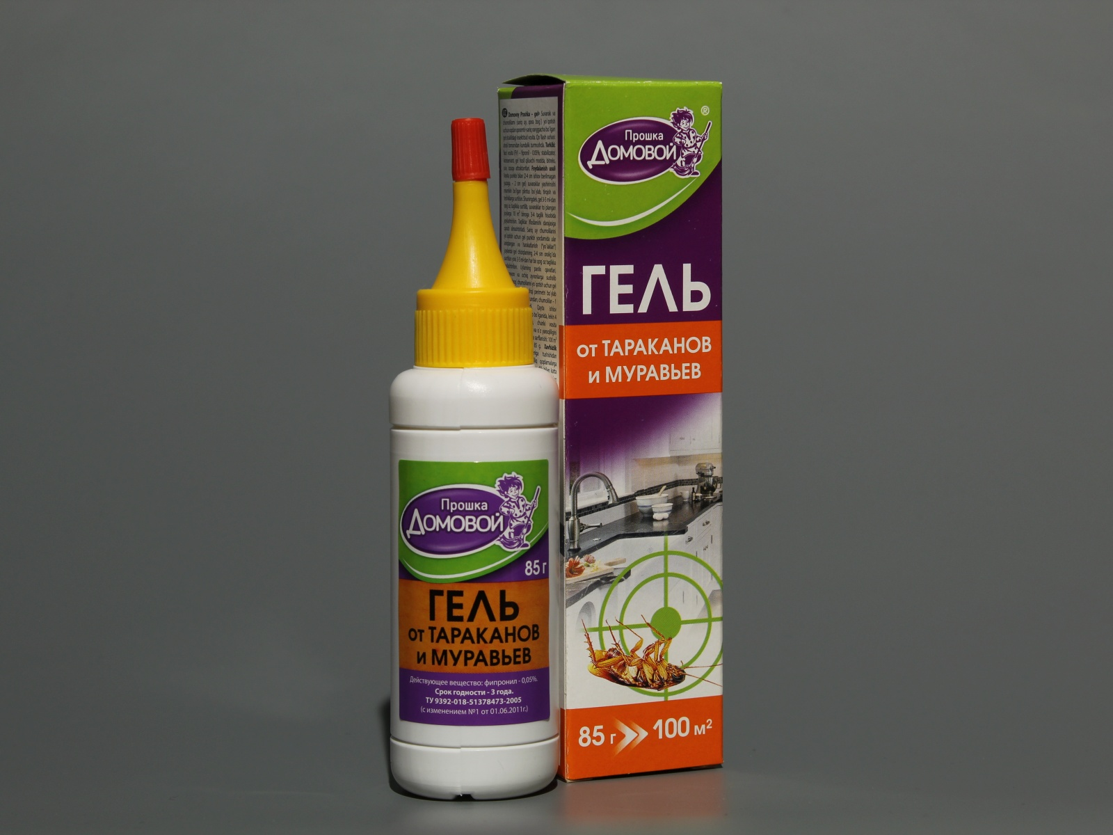 Применение геля домовой от тараканов
