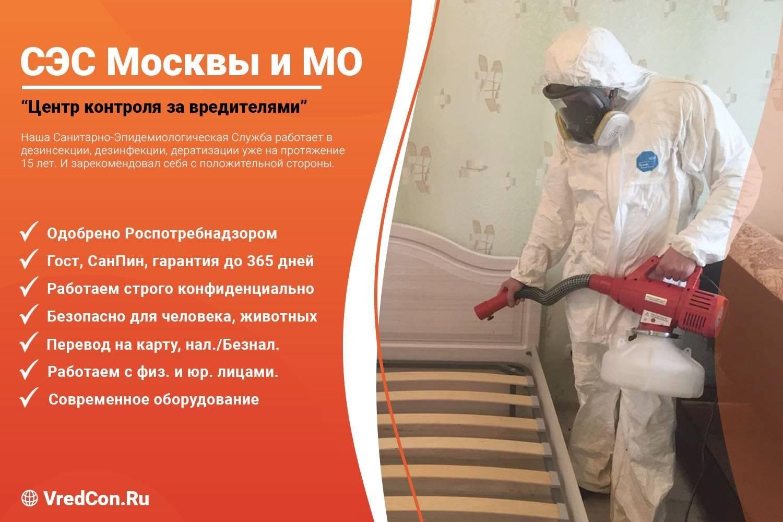 Уничтожение и обработка от тараканов в квартире в москве от 1800 ₽