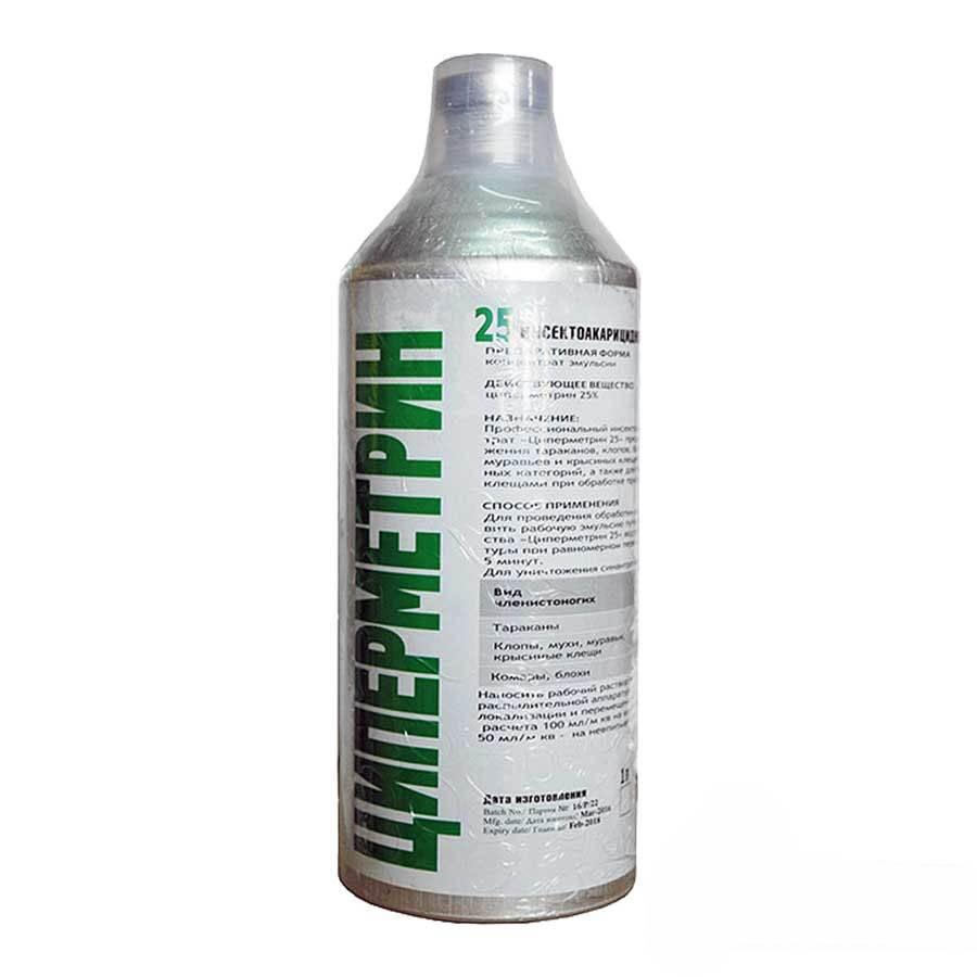 Циперметрин — инструкция по применению от клопов, клещей, тараканов и комаров