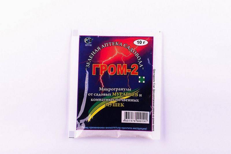 Препарат от мошек гром-2: инструкция по применению