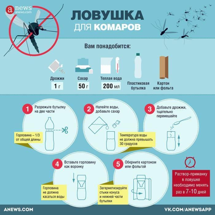 Как избавиться от комаров в домашних условиях без капли крови