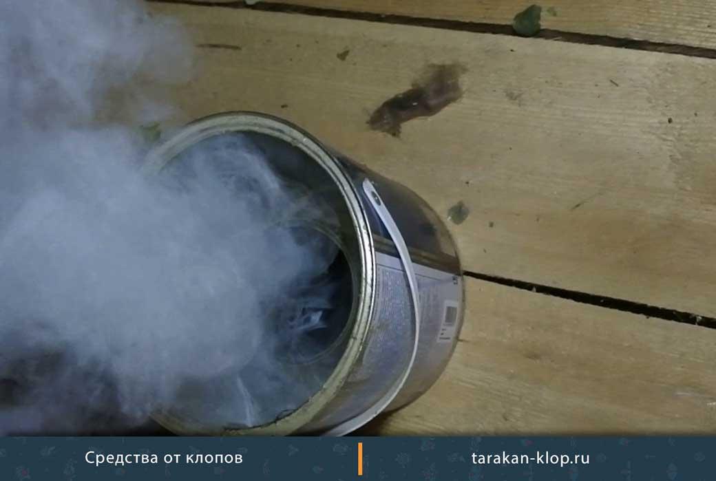 Инсектицидные дымовые шашки от блох для жилых и нежилых помещений