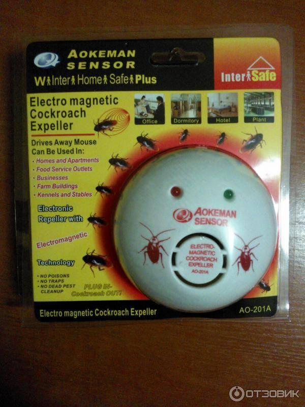 Отпугиватель тараканов ультразвуковой – отзывы, марки, принцип действия.