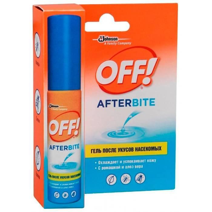 Off от комаров - как использовать средство