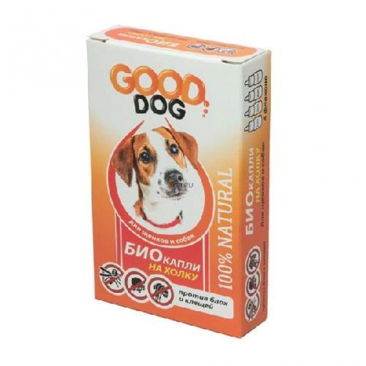 Капли для собак от клещей и блох