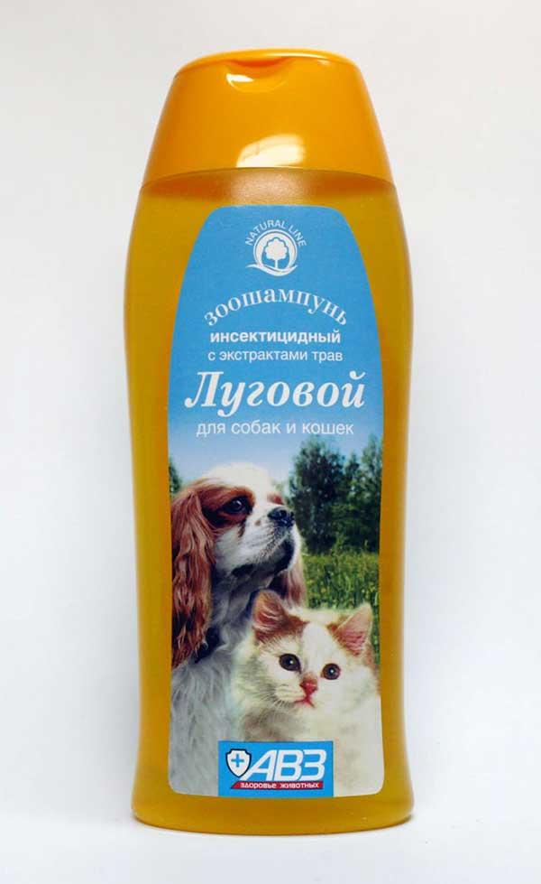 Шампуни от блох для кошек и собак: обзор, свойства, отзывы