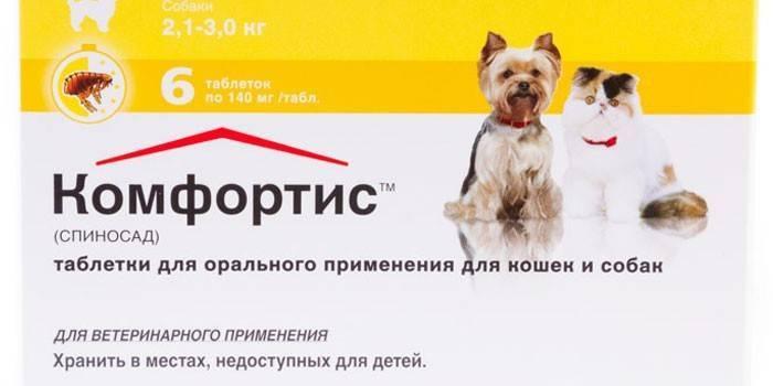 Таблетки от блох для кошек и собак: отзывы и инструкция по применению