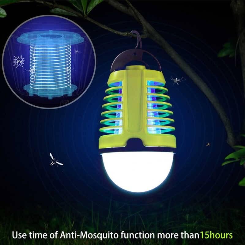 Лампы от комаров: разновидности и принцип действия
