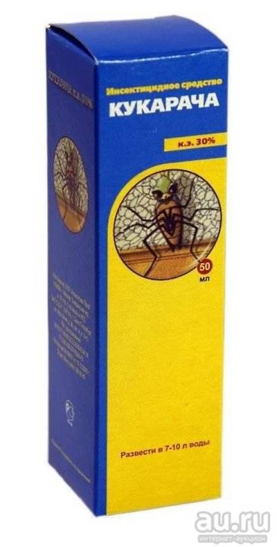 Кукарача от тараканов: состав и инструкция по применению