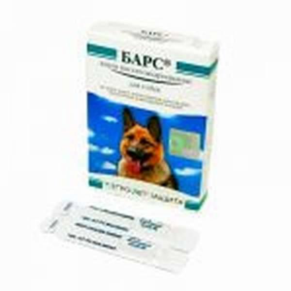 Барс от клещей и блох для собак и кошек (капли, спрей, ошейник) - инструкция по применению и отзывы
